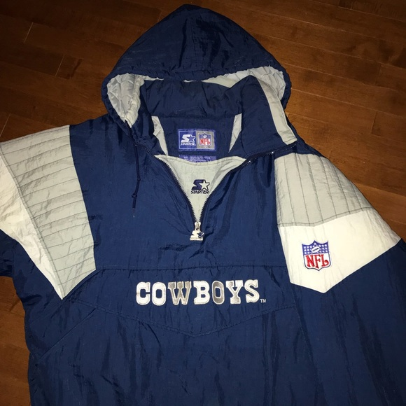 new style 145a4 acd5c Dallas Cowboys Starter Jacket